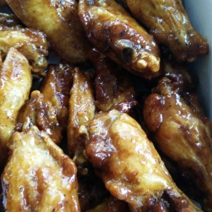 Sweet Tangy Glazed Wings